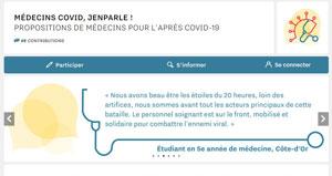 Participez à la grande enquête « Médecins Covid, Jenparle ! »